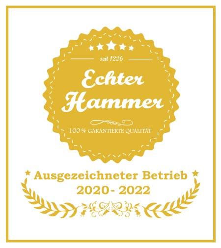 Auszeichnung Echter Hammer